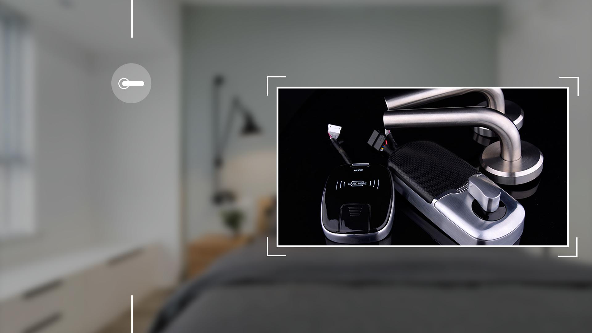 Hình ảnh sản phẩm khóa thẻ Hune 6100-D