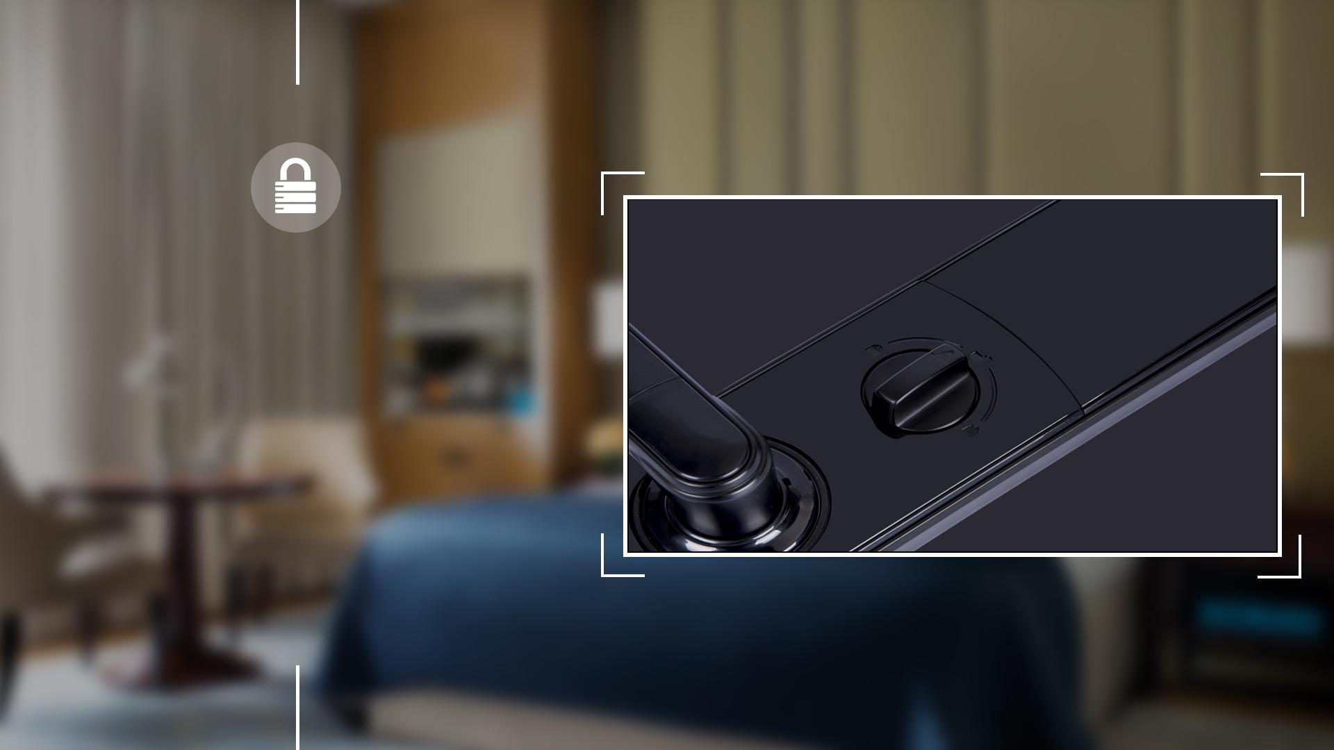 Hình ảnh sản phẩm khóa thẻ Hune 918-86-D