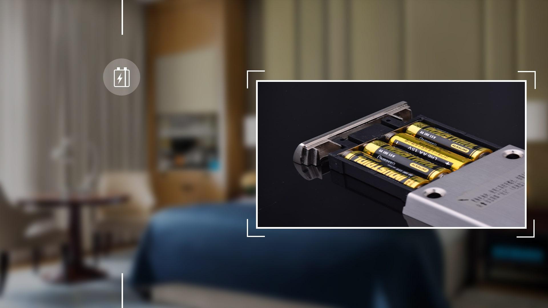 Hình ảnh sản phẩm khóa thẻ Hune 930-3-D (II)