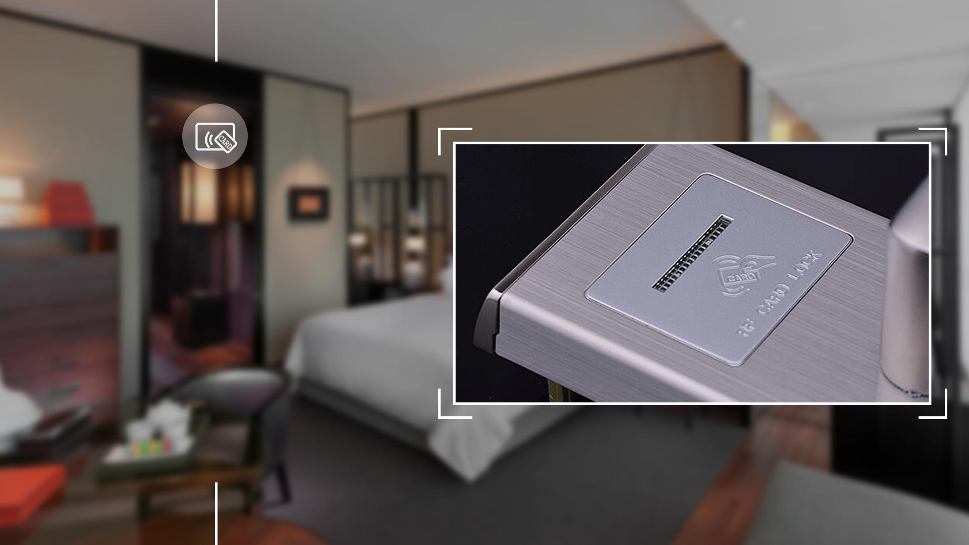 Hình ảnh sản phẩm khóa thẻ Hune 930-5-D