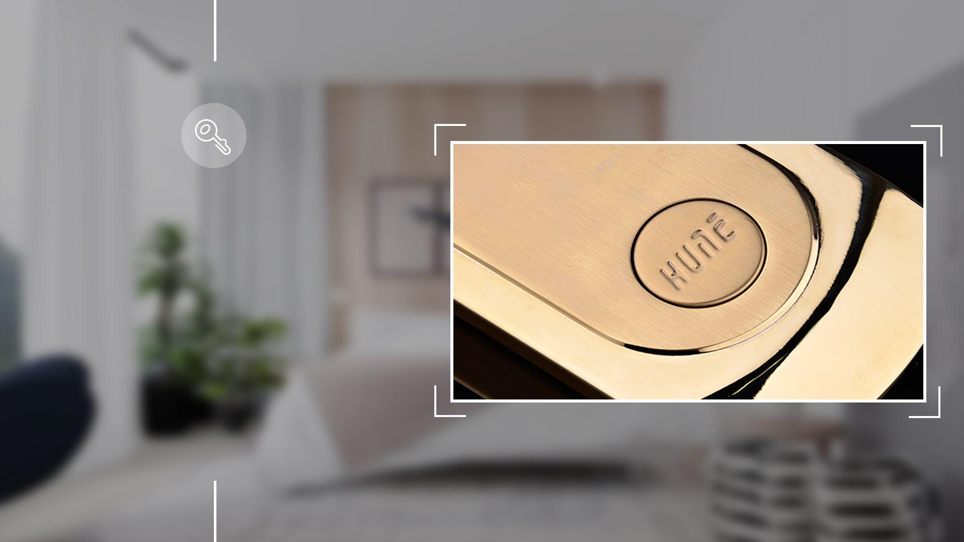 Hình ảnh sản phẩm khóa thẻ Hune 968-D