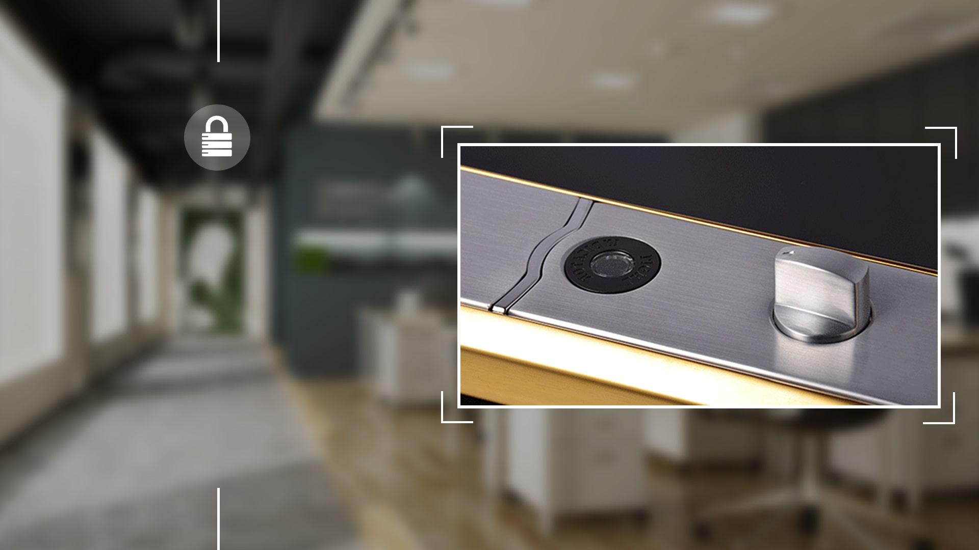 Hình ảnh sản phẩm khóa Bàn Phím Thông Minh Hune 918-3-M