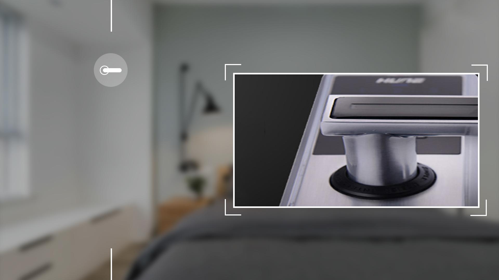 Hình ảnh sản phẩm khóa Bàn Phím Thông Minh Hune 918-88-M