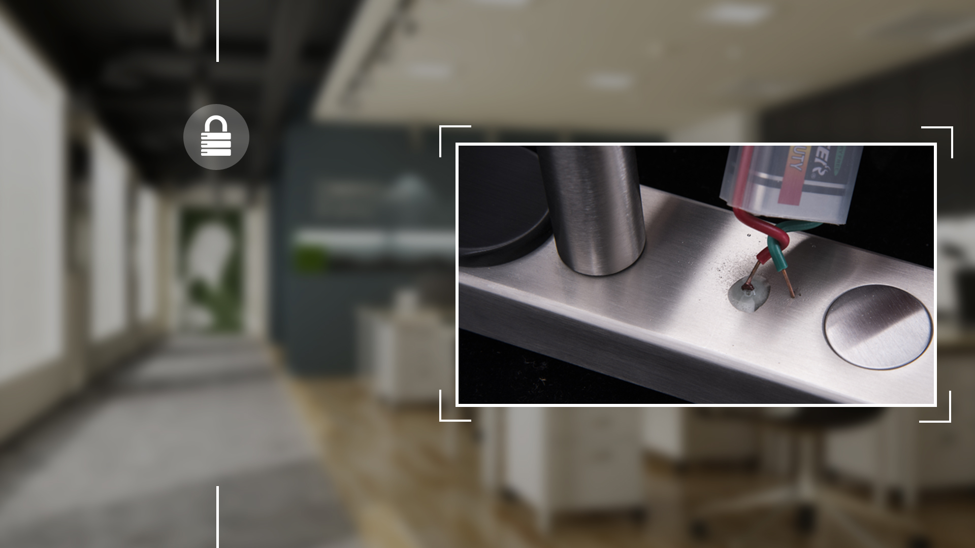 Hình ảnh sản phẩm khóa Bàn Phím Thông Minh Hune 929-M (II)