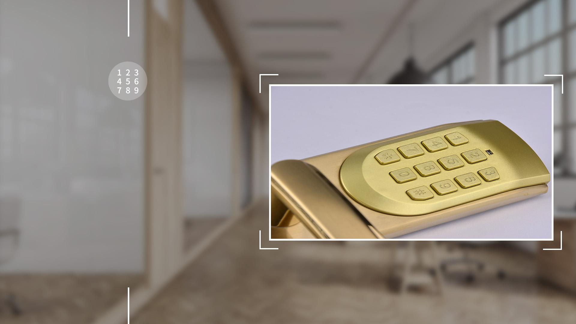 Hình ảnh sản phẩm khóa Bàn Phím Thông Minh Hune 918-62-M